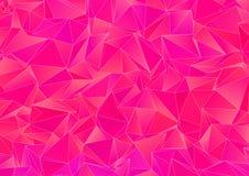 Fondo astratto, mosaico triangolato Immagine Stock