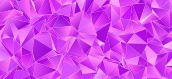 Fondo astratto, mosaico triangolato Fotografia Stock