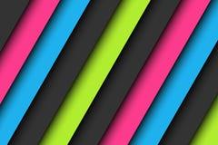 Fondo astratto nei colori al neon illustrazione di stock