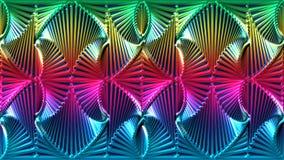 Fondo astratto nei colori dell'arcobaleno, immagine raster per il desi Fotografia Stock