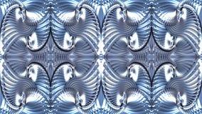 Fondo astratto nei toni blu, immagine raster per la progettazione o Immagine Stock Libera da Diritti