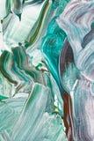 Fondo astratto nei toni pastelli di verde fotografie stock