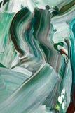 Fondo astratto nei toni pastelli di verde e del nero immagini stock