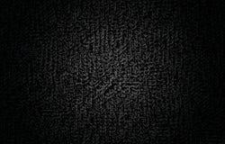 Fondo astratto nero Fotografia Stock