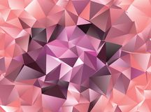 Fondo astratto poligonale Clip art Immagini Stock Libere da Diritti