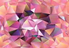 Fondo astratto poligonale Clip art Fotografia Stock Libera da Diritti