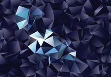 Fondo astratto poligonale Clip art Fotografie Stock Libere da Diritti