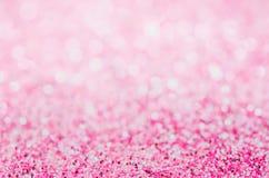 Fondo astratto rosa, fondo rosa del bokeh fotografia stock libera da diritti