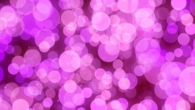 Fondo astratto rosa festivo di moto di Bokeh illustrazione di stock