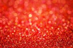Fondo astratto rosso - fondo rosso del bokeh fotografia stock libera da diritti