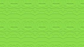 Fondo astratto senza cuciture nei toni verdi con gli scarabocchi Immagine Stock