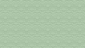 Fondo astratto senza cuciture nei toni verdi con gli scarabocchi Fotografie Stock