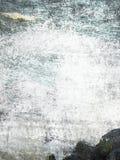 Fondo astratto - spruzzata dell'acqua immagine stock