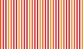 Fondo astratto a strisce rosso, bande variabili senza cuciture di larghezza illustrazione vettoriale