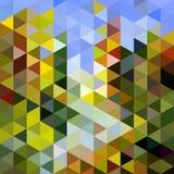 Fondo astratto triangolare Illustrazione Vettoriale
