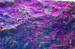Fondo astratto variopinto da minerale naturale Macro Immagini Stock Libere da Diritti