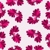 Fondo astratto variopinto del modello rosa dei petali Fotografia Stock