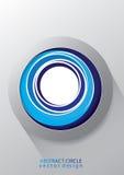 Fondo astratto variopinto di logo illustrazione di stock
