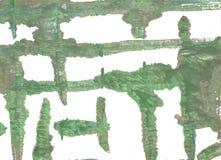 Fondo astratto verde dell'acquerello del cammuffamento Immagini Stock Libere da Diritti