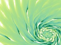 Fondo astratto verde di frattale Onde colorate che si mescolano in un giro rapido arte digitale moderna Modello grafico creativo  Fotografia Stock