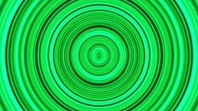 Fondo astratto verde, luce a spirale e particella Spirale ipnotica royalty illustrazione gratis
