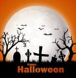 Fondo asustadizo de Halloween Fotografía de archivo libre de regalías