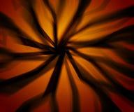 Fondo asustadizo de la naranja de los rayos Fotografía de archivo libre de regalías