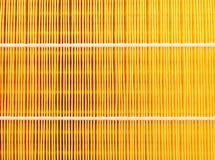 Fondo automotriz del primer del filtro de aire Imagen de archivo libre de regalías