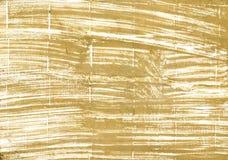 Fondo azteca de la acuarela del extracto del oro Fotos de archivo
