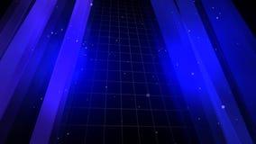 Fondo azul a ilustración del vector