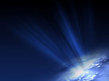 Fondo azul ilustración del vector