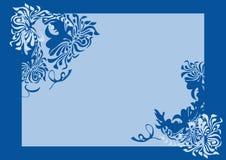 Fondo azul Imagen de archivo