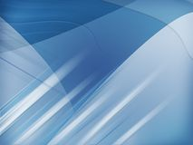 Fondo azul abstracto Foto de archivo libre de regalías