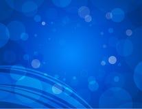 Fondo azul abstracto Imagenes de archivo