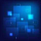 Fondo azul abstracto Fotografía de archivo libre de regalías