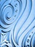 Fondo azul abstracto foto de archivo
