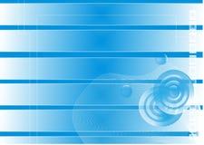 Fondo azul abstracto Fotos de archivo