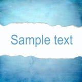 Fondo azul abstracto con el espacio en blanco para el texto Foto de archivo
