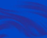 Fondo azul abstracto con las líneas onduladas Imagen de archivo