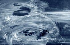 Fondo azul abstracto con las manchas de óxido fotos de archivo