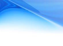 Fondo azul abstracto de la cabecera de la flama Fotos de archivo