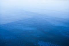 Fondo azul abstracto de la naturaleza Fotografía de archivo
