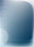 Fondo azul abstracto de la tecnología Fotografía de archivo