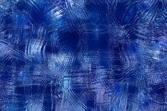 Fondo azul abstracto del hielo libre illustration