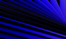 Fondo azul abstracto del papel pintado de la cuchilla fotografía de archivo