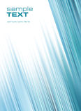 Fondo azul abstracto (fácil quitar el texto) ilustración del vector