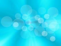 Fondo azul abstracto radial, falta de definición backgraound.holiday. Foto de archivo libre de regalías