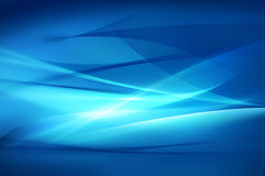 Fondo azul abstracto, textura de la onda Imagenes de archivo