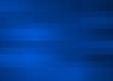 Fondo azul al azar abstracto del pixel Ilustración del Vector