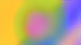Fondo azul amarillo del extracto del círculo del triángulo Fotografía de archivo libre de regalías
